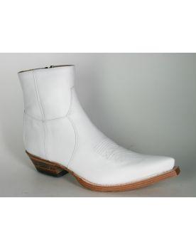 7826 Sendra Stiefelette X Blanco Weiß