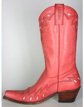 7903 Sancho Cowboystiefel Rojo