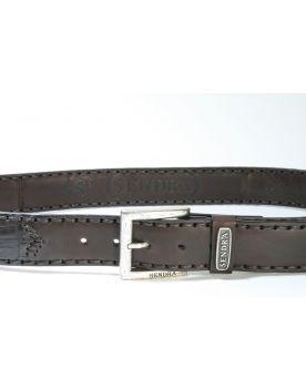 8214 Sendra Wechselgürtel Krokoleder Braun