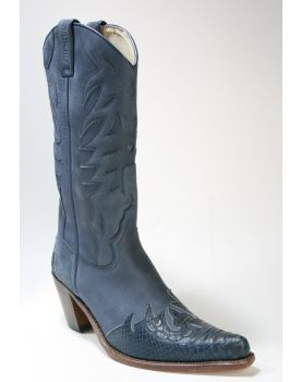 8236 Sancho Cowboystiefel Azul