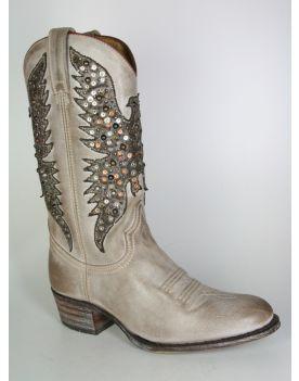 9012 Sendra Cowboystiefel Debora Serr. Sabia Nieten