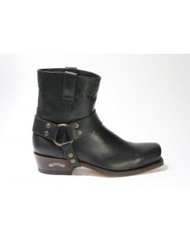 9512 Sendra Kurzstiefel Blues Bikerboots Dark Chocolate