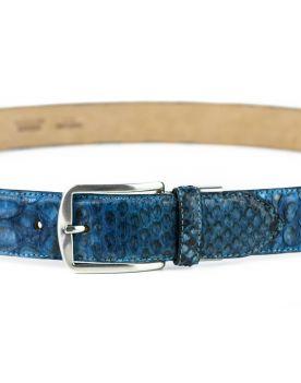 810 Mayura Gürtel Python Azul