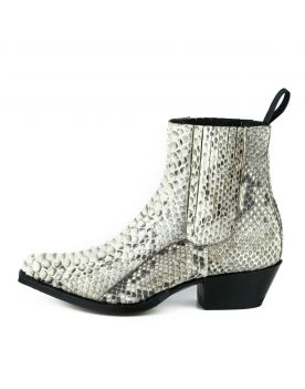 2496 Mayura Boots Stiefeletten Python White