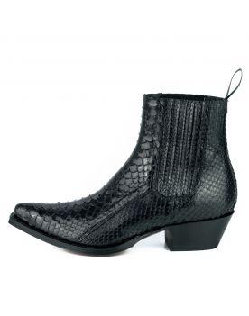 2496 Mayura Boots Stiefeletten Python Negro