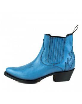 2487 Mayura Boots Cowboy Stiefeletten Marilyn Blau 3