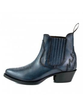 2487 Mayura Boots Cowboy Stiefeletten  Blau 85