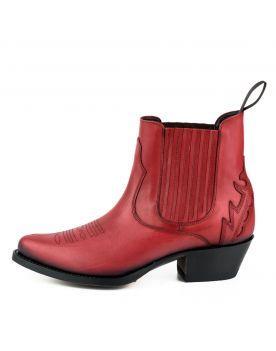 2487 Mayura Boots Cowboy Stiefeletten rot