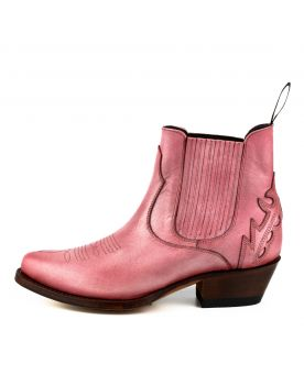 2487 Mayura Boots Cowboy Stiefeletten Rosa