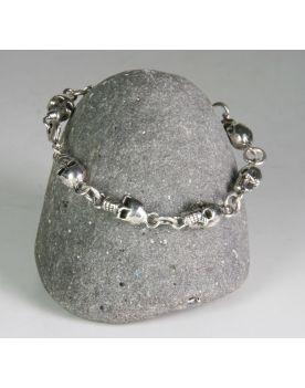 P6019 Armband XXL Hardwear Barcelona skulls