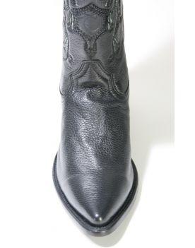 X4 Cuadra Cowboyboots Hirschleder Black